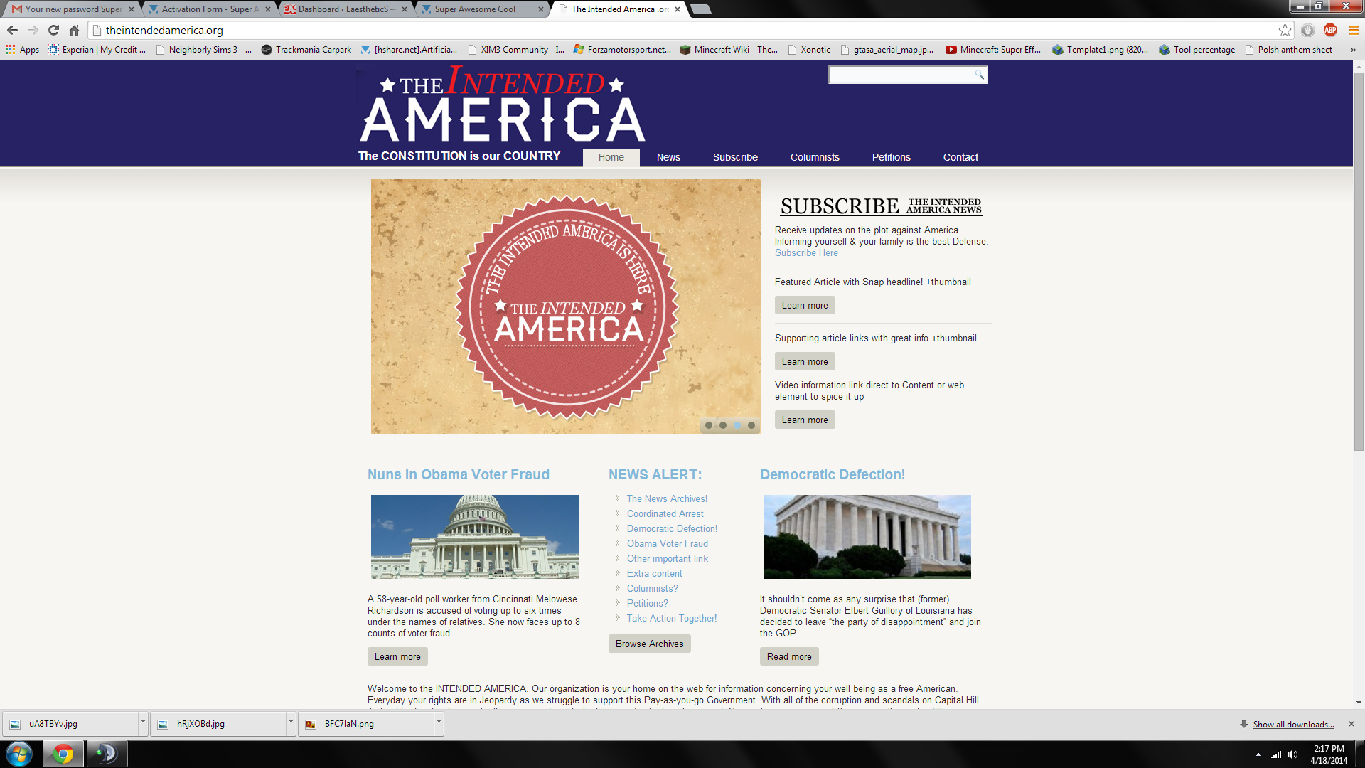 TheIntendedAmerica
